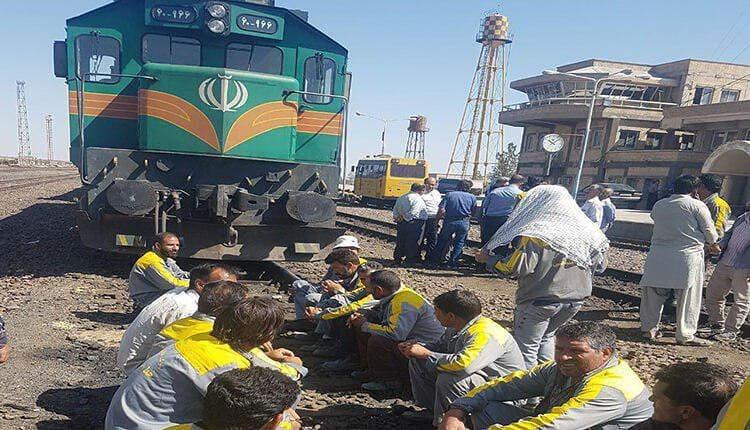 آخرین وضعیت حقوق کارگران راه آهن